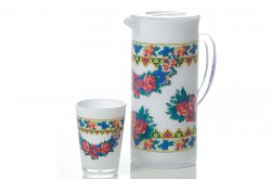 Middle East Style Double-layer Cold Water Pitcher Set